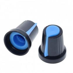 Dugme za potenciometar WH148 plavo
