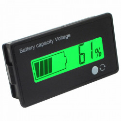 Indikator stanja akumulatora sa LCD displejom zeleni V1.0