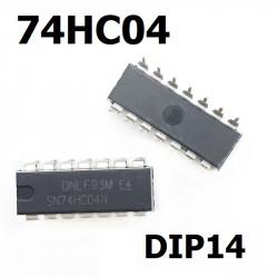 Integrisano kolo 74HC04 DIP14