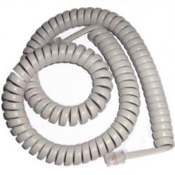 Kabl za telefonsku slušalicu 3m beli