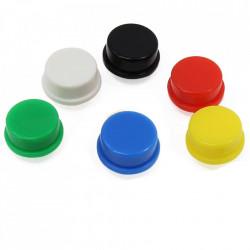 Kapica za taster 12x12x7.3mm crvena