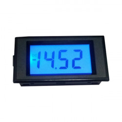 LCD ampermetar 0-20mADC plavi