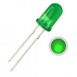 LED dioda 5mm zelena difuzna