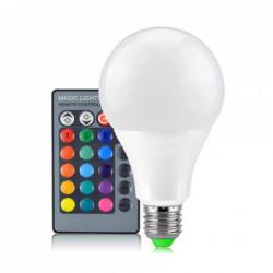 LED sijalica E27 8W RGB sa daljinskim upravljačem