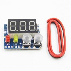 LED voltmetar 0-100VDC sa alarmom