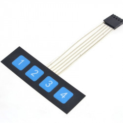 Membranska tastatura 1x4