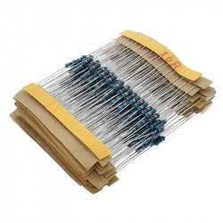 Set metaloslojnih otpornika-300 komada
