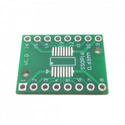 Adapter SOP16/SSOP16/TSSOP16 na DIP16