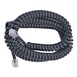 Kabl za telefonsku slušalicu 5m crni