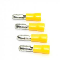 Kablovska bullet papučica muška žuta