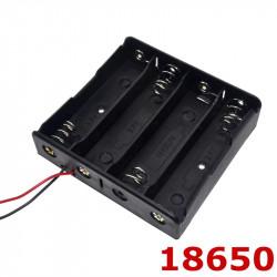 Kućište za četiri litijumske baterije 18650