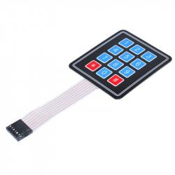 Membranska tastatura 3x4
