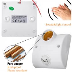 Podnožje sijalice E27 sa senzorom zvuka