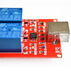 Relejni modul sa USB kontrolom 2 kanala