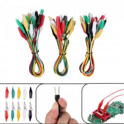 Set krokodil štipaljki sa kablovima