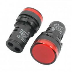 Signalna sijalica 230VAC 22mm crvena