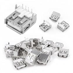 Ženski USB konektor tip A za PCB montažu