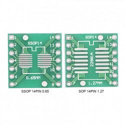 Adapter SOP14/SSOP14/TSSOP14 na DIP14