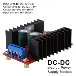 DC-DC step-up konvertor 150W