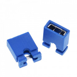 Džamper 2.54mm plavi