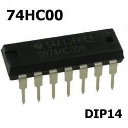 Integrisano kolo 74HC00 DIP14