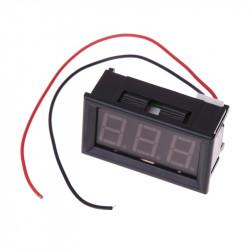 LED voltmetar 60-500VAC plavi