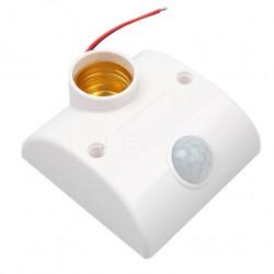 Podnožje sijalice E27 sa senzorom pokreta
