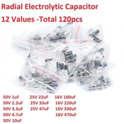 Set elektrolitskih kondenzatora-120 komada