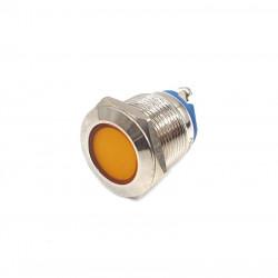 Signalna LED sijalica 19mm 230VAC žuta