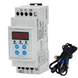 Temperaturni kontroler za montažu na DIN šinu