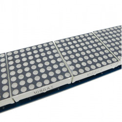 Četvorostruki LED dot matrix modul 8x8 crveni