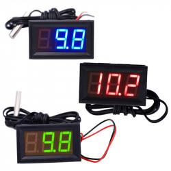 Digitalni LED termometar crveni