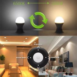 LED sijalica E27 9W sa daljinskim upravljačem
