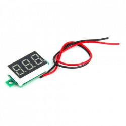 LED voltmetar mini crveni