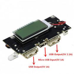 Power bank sa LCD displejom