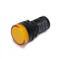 Signalna sijalica 230VAC 22mm žuta