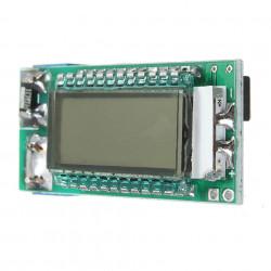 Tester litijum-jonskih baterija sa LCD displejom