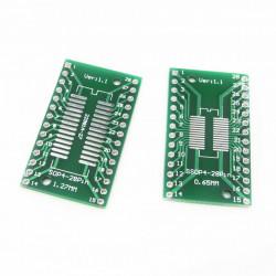 Adapter SOP28/SSOP28/TSSOP28 na DIP28