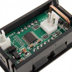 Digitalni LED ampermetar 10A zeleni
