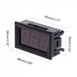 Digitalni LED termometar plavi
