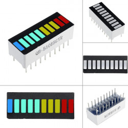 LED bar 10 segmenata multikolor