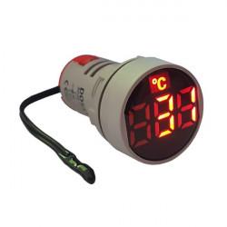 LED termometar AD22-22TM crveni