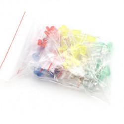 Set LED dioda 3mm i 5mm 100 komada