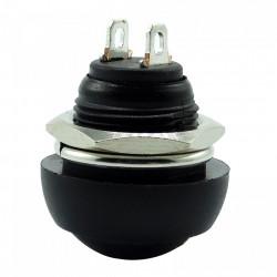 Taster za montažu na šasiju IP65 crni