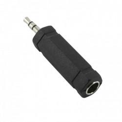Adapter 3.5mm muški na 6.3mm ženski stereo