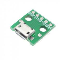 Adapter pločica sa mikro USB konektorom