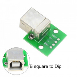 Adapter pločica sa ženskim USB B konektorom