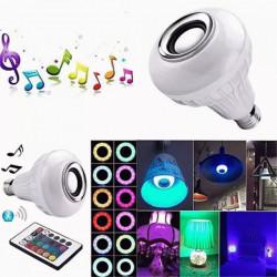 Bluetooth RGB LED sijalica sa zvučnikom 12W