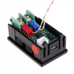 Digitalni LED termometar K tip sonde plavi