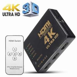 HDMI preklopnik sa 5 ulaza sa daljinskim upravljačem